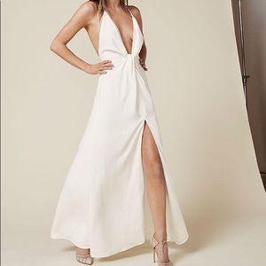 Reformation Dima dress ivory size 2